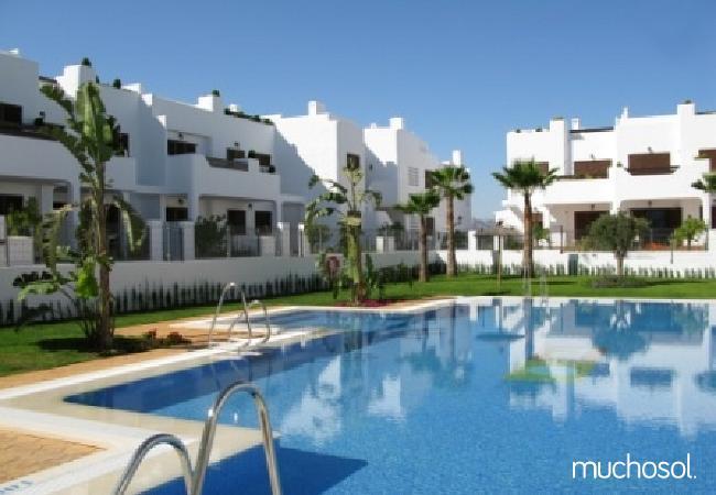 Bungalow de 2 habitaciones a 200 m de la playa en San Juan de los terreros - Ref. 76225-19