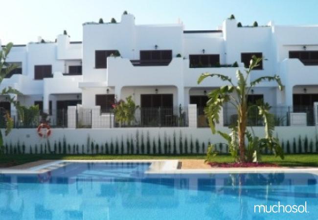 Bungalow de 2 habitaciones a 200 m de la playa en San Juan de los terreros - Ref. 76225-26