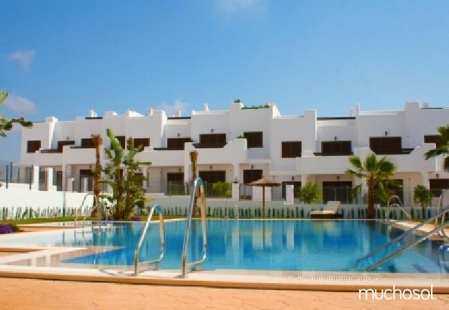 Bungalow de 2 habitaciones a 200 m de la playa en San Juan de los terreros - Ref. 76225-46