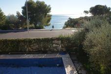 Villa en primera línea de playa de Ampolla