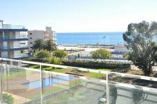 Apartamento en primera línea de playa de Cambrils