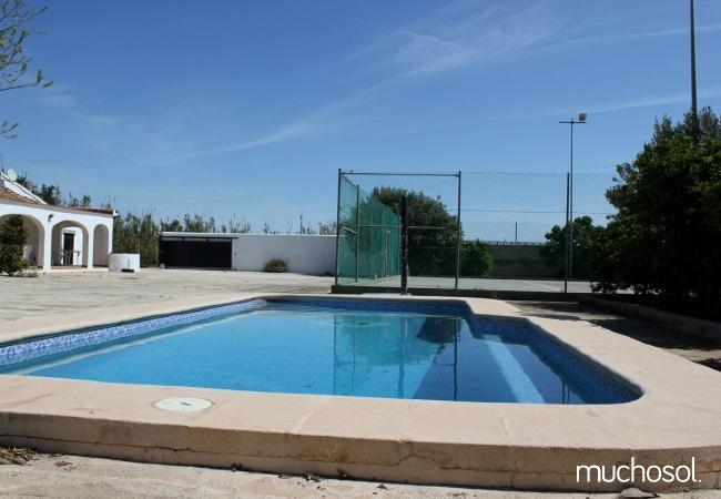 Villa con piscina y pista de tenis privada - Ref. 110512-4