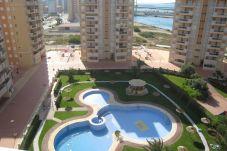 Apartamento con piscina en La Manga del Mar Menor