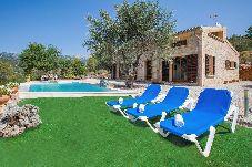 Villa en Mancor de la Vall para 8 personas con 4 habitaciones