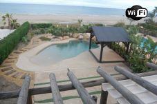 Villa en primera línea de playa de Vera playa