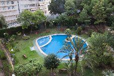 Apartamento para 6 personas con vistas al jardín